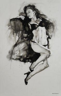 The Black Coat Project - New York Sessions - Anastasiya on Behance