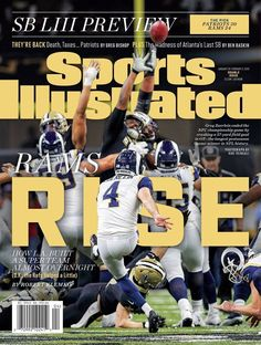 bf3ac9ae0 Sports Illustrated 2019 Los Angeles Rams -McVay Goff - Super Bowl 53 - Rams  Rise