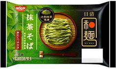 日清和麺 抹茶そば (2人前)