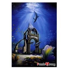 Puzzle Lif Jigsaw Puzzles 1000 Pieces Beneath Cathedral Cove Glow Sambataro #PuzzleLife