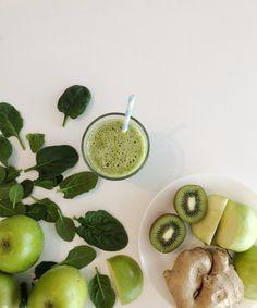 Supergrønn smoothie. FAMILIEMATBLOGG
