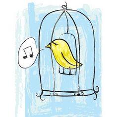 """LIBERTA' La porticina della gabbia era rimasta aperta. L'uccellino con lieve balzo fu sull'uscio e da li guardò il vasto mondo prima con un occhio e poi con l'altro. Passò per il suo corpicino il fremito del desiderio dei vasti spazii per cui le sue ali erano fatte. Ma poi pensò: """"Se esco potrebbero chiudere la gabbia ed io resterei fuori, prigioniero"""". La bestiola rientrò e poco dopo, con soddisfazione, vide rinchiudersi la porticina che suggellava la sua libertà. (Italo Svevo)"""