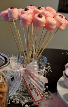 Pink & Brown Baby Shower   A to Zebra Celebrations