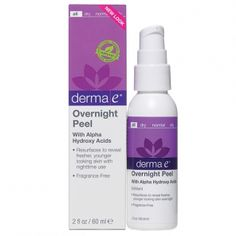 """Derma E Overnight Peel $17 - """"Put a combination of Vaseline and alpha hydroxy on your feet before bed — they will work their magic while you get your beauty sleep, and you'll awake to smoother soles. Put on socks after you apply the mixture for extra hydration."""""""