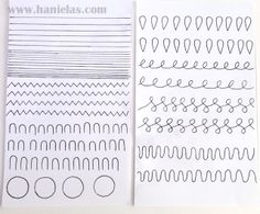 Haniela's: Practicing Piping With Royal Icing, Using Simple Templates
