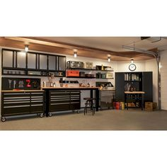 Husky 52 in. Pegboard Back Wall for Tool Cabinet, - The Home Depot : Husky 52 in. Pegboard Back Wall for Tool Cabinet, - The Home Depot Garage House, Garage Walls, Garage Cabinets, Garage Shop, Tool Cabinets, Man Cave Garage, Dream Garage, Garage Office, Man Cave Shed