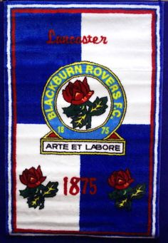 BLACKBURN ROVERS FC Football Club Blue & White Large Rectangle Floor Rug in Home, Furniture & DIY, Children's Home & Furniture, Rugs & Carpets   eBay #football #team #sport #play #exercise #cool #modern #support #teamplayer #fan #footballfan #Blackburn #BlackburnRovers #rug #bed #bedroom #home