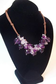 #FreeJewelryPattern - Cosmo Necklace - Bring on the bling with this gorgeous necklace! Dress up some jeans or add the finishing touch to your evening outfit! Download the FREE pattern instantly!