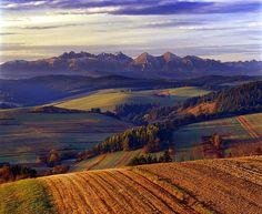 Polski Spisz to tylko mały fragment większego regionu, którego główna część leży na Słowacji.