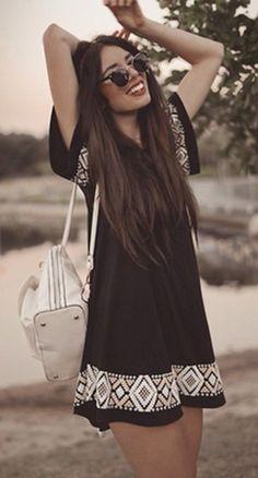 28 Great Boho – Bohemian Style Ideas For Summer - Fashion Outfit Ideas Mode Hippie, Bohemian Mode, Boho Chic, Hippie Chic, Bohemian Style, Chic Chic, Look Fashion, Womens Fashion, Fashion Trends