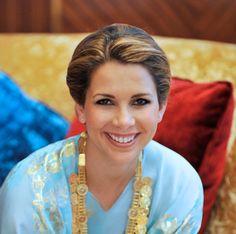 HRH Princess Haya. Daughter of HM King Hussein and Queen Alia of Jordan