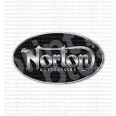 Norton Motorcycles Sticker for - Stickers Motorcycle Norton Motorcycle, Motorcycle Stickers, Cafe Racers, Motorcycles, Bike, Metal, Stuff To Buy, Vintage, Bicycle