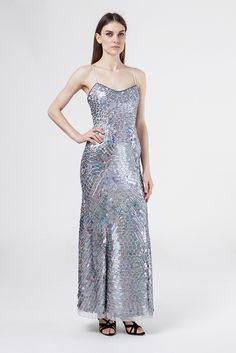 AN36035 sukienka wieczorowa