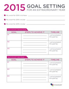 Goal Setting Worksheet  Youtube Goal Setting Worksheet And Goal