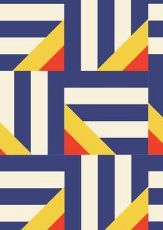 geometric pattern by minikani