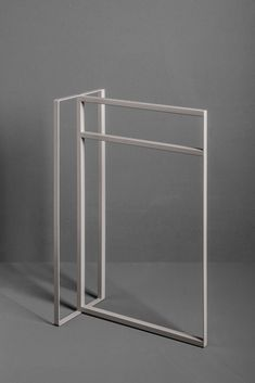 Freestanding towel rail from the TYPE collection.