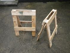 Picture of Trestle from pallets