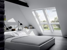 Les fenêtres de toit pour éclairer les combles - Marie Claire Maison