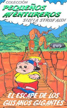 En este libro la aventura es imaginada por los pequeños aventureros. Son perseguidos por los terribles gusanos gigantes de color naranja. ¿Los pequeños aventureros podrán ganar los gusanos gigantes?