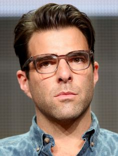"""Co-Executive Producer Zachary Quinto speaks onstage at the """"The Chair"""" panel during the Starz portion of the 2014 Summer Television Critics Association at The Beverly Hilton Hotel on July 11, 2014 in Beverly Hills, California."""