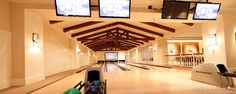 Indoor Bowling Alley at Deer Valley