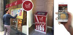 Teatro del Gusto è un franchising italiano che si avvia a essere la novità più interessante nel panorama retail nazionale e internazionale. Per i suoi punti vendita impiega innovativi strumenti di marketing digitali forniti da ENYCS! http://bit.ly/1LFKwZq