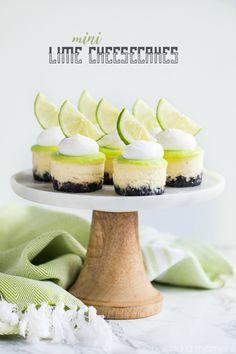 Lime Mini Cheesecake
