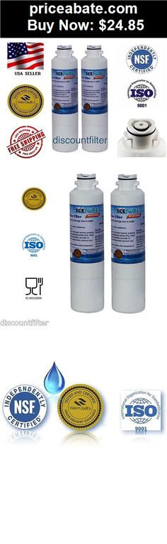 Major-Appliances: SAMSUNG DA29-00020B 46-9101 COMPARABLE ICEPURE REFRIGERATOR WATER FILTER 2-PACK - BUY IT NOW ONLY $24.85