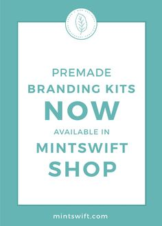 I'm sorry, MintSwift Shop is currently closed - MintSwift Branding Your Business, Branding Kit, Business Names, Brand Identity Design, Branding Design, Get More Followers, Brand You, Web Design, Budget