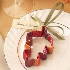 Party favour - cookie cutter wrapped in ribbon. Name label. Choose cutter to suit theme of party. Kitchen tea? From wilton wedding cake ideas.