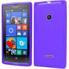 Insten Slim Frosted TPU Rubber Candy Skin Phone Case Cover For Microsoft Lumia 435 #2119623