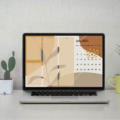 Neutral Wallpaper, Mac Wallpaper, Computer Wallpaper, Desktop Calendar, Calendar Wallpaper, Folder Organization, Desktop Organization, Minimal Calendar, Printable Fabric