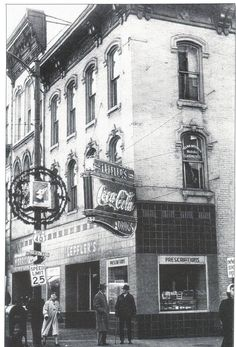 Old Picture Of Downtown Zanesville Ohio Home Town Favorites
