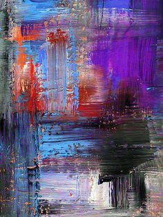 Blue and Purple Paint / 148