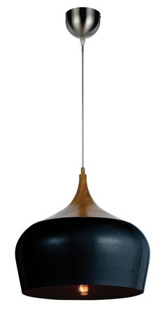 Dining area with Lightears Matt Caravaggio pendant lights, E15 Sloane ...