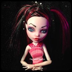 Custom OOAK Draculaura doll by allaboutthedolls on Etsy