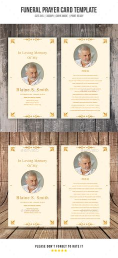 Folded Funeral Template My Sweet Momma Pinterest Template - funeral invitation templates