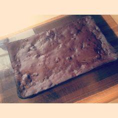 Clean brownies. So yum!