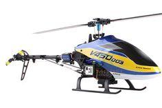 JRC Model V450D03 FPV 6CH RC Helicopter with DEVO F7 Transmitter RTF