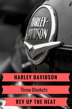 Harley Davidson Throw Blankets; Harley Davidson throw blankets just the thing for Dad's den or man cave.  He'll love those warm afternoon naps filled with dreams of a biker's road trip.