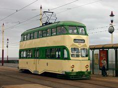 Tram Service at Blackpool Lancashire U. Blackpool Lights, Blackpool Rock, Blackpool Pleasure Beach, Blackpool England, Preston Lancashire, British Seaside, Seaside Uk, Heartbreak Hotel, Bus Coach