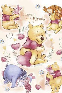 Winnie the Pooh Winnie the Pooh The post Winnie the Pooh appeared first on P. - Winnie the Pooh Winnie the Pooh The post Winnie the Pooh first appeared in Paris … – - Winnie The Pooh Tattoos, Winnie The Pooh Drawing, Winnie The Pooh Pictures, Cute Winnie The Pooh, Winne The Pooh, Winnie The Pooh Quotes, Winnie The Pooh Friends, Piglet Quotes, Cute Disney Wallpaper