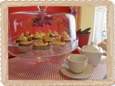 Cup cakes με φυστικοβούτυρο