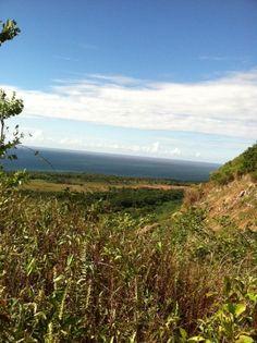 Terreno de playa y montañas en Coson