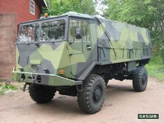 """Sisu A-45  """"Proto-Sisu"""" Military Vehicles, Military Car, Defence Force, Finland, Monster Trucks, Army, Arsenal, Commercial, Concept"""