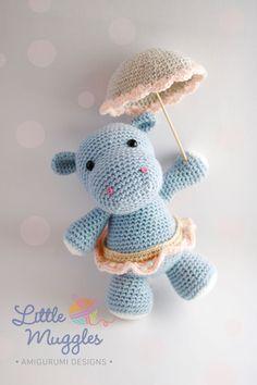 Little Muggles- Hanna the hippo