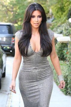 Picture of Kim Kardashian Kim Kardashian Images, Kardashian Beauty, Kim Kardashian Hair, Estilo Kardashian, Kardashian Style, Kardashian Jenner, Kim And Kourtney, Hollywood Actresses, Gorgeous Women