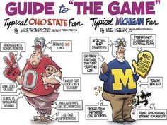 Ohio State: Free Press, Columbus cartoonists throw down Ohio State Buckeyes, Ohio State Vs Michigan, Michigan Wolverines Football, Buckeyes Football, Ohio State University, College Football, Alabama Football, American Football, Detroit Free Press