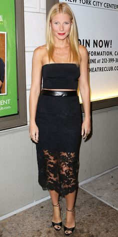 Look of the Day - October 3, 2014 - Gwyneth Paltrow in Monique Lhuillier from #InStyle