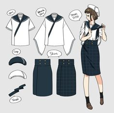 Quirky Fashion, Fashion Art, Fashion Outfits, Pretty Outfits, Cool Outfits, Modern Kimono, Lolita Cosplay, Clothing Sketches, Art Costume